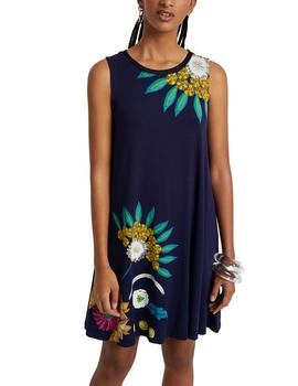 Vestido Desigual Love Others azul