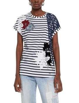 Camiseta Desigual Refresh blanco