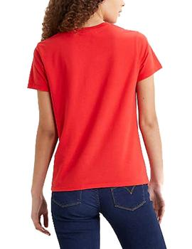 Camiseta Levis The Perfect Tee rojo