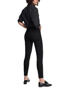 Pantalón vaquero Salsa Push In Secret skinny negro