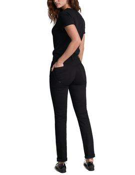 Pantalón vaquero Salsa Push In Secret slim negro