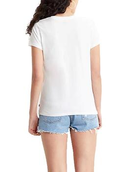 Camiseta Levis The Perfect Tee cactus blanco