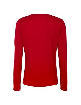 Camiseta Tommy Jeans Essential rojo