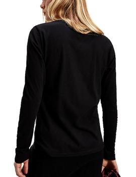 Camiseta Tommy Jeans Essential negro
