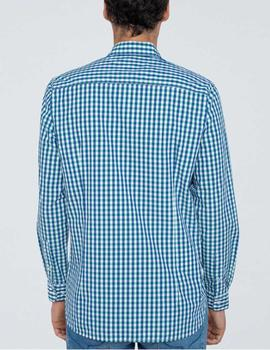 Camisa Pepe Jeans Lonnie azul