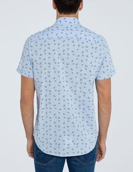 Camisa Pepe Jeans Melvin azul