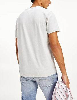 Camiseta Tommy Jeans logo gris
