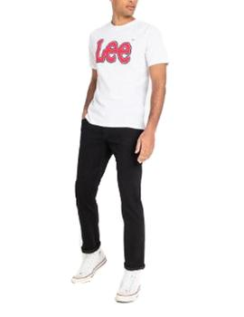 Camiseta Lee logo blanco