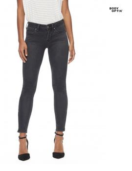 Pantalón vaquero Lee Scarlett Cropped Zip Body Optix