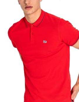 Polo Lee rojo