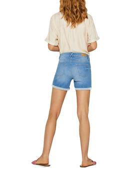 Shorts Esprit denim azul