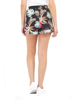 Short Brave Soul tropical Lorriane negro