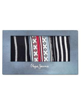 Pack 3 pares calcetines Pepe Jeans Libby